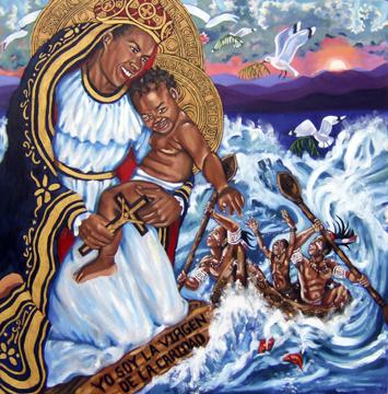 La Virgen de la Caridad del Cobre by Lili Bernard