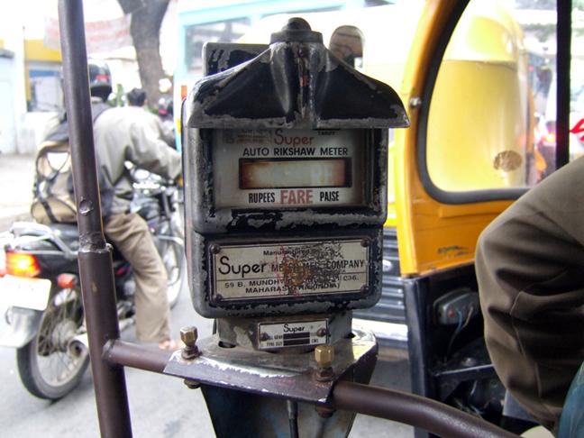 Rickshaw Meter © 2006 by Lili Bernard