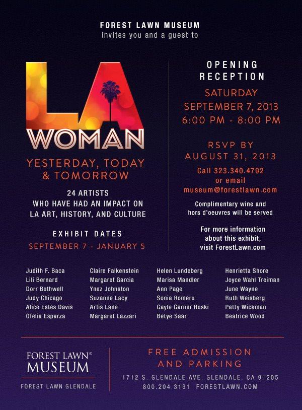 LA Woman Flyer 2013