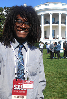 Isaiah Ferguson at the White House 10/3/2016