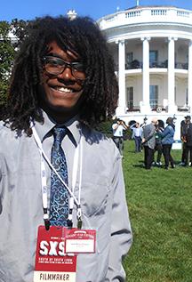 Isaiah Ferguson at the White House 10/3/2016