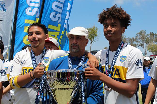 Uriel Bernard Ferguson National Cup U16 Soccer Champions 2018