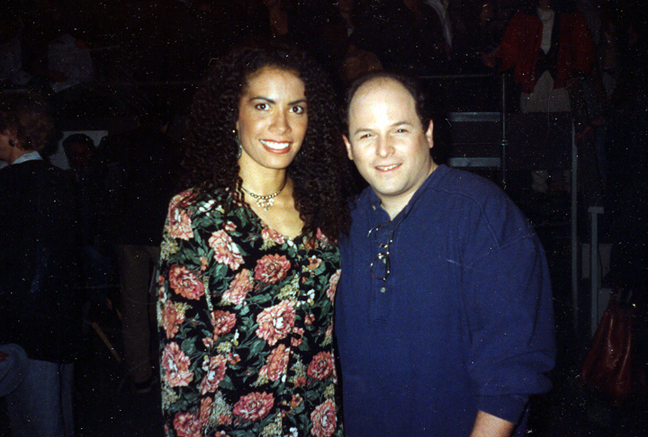 Backstage on Seinfeld with George Alexander