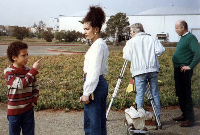 Behind the scene of the BBC Film, Murder in Oakland