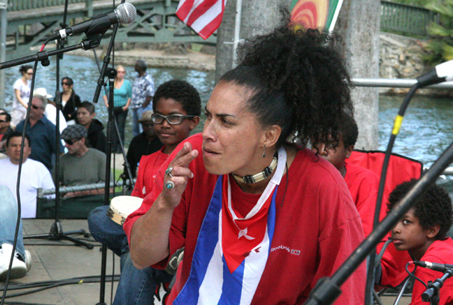 2010 Cuban Music Festival, Echo Park, Los Angeles, CA