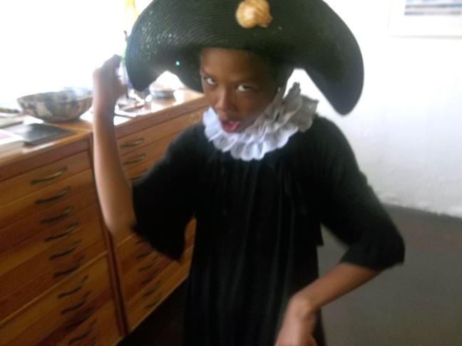 My son Joshua as El Santo Niño de Atocha