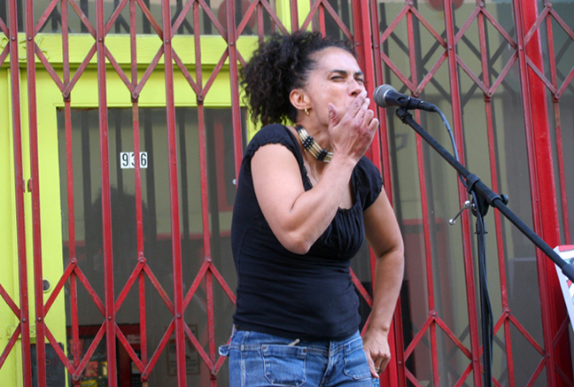 Caribbean Heritage Organization & Lili Bernard Art Studio, June 2009, Song of Che Chango by Lili Bernard