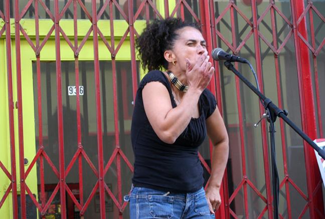 Caribbean Heritage Organization & Lili Bernard Art Studio, June 2009, Song of Che Chango by Lili Bernard