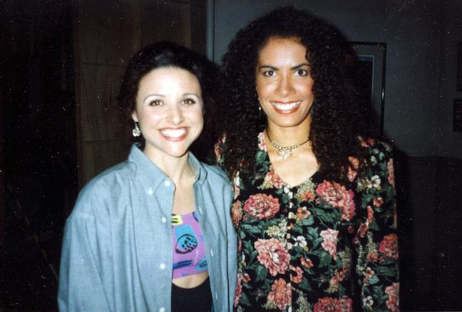 Backstage on Seinfeld with Julia Dreyfus