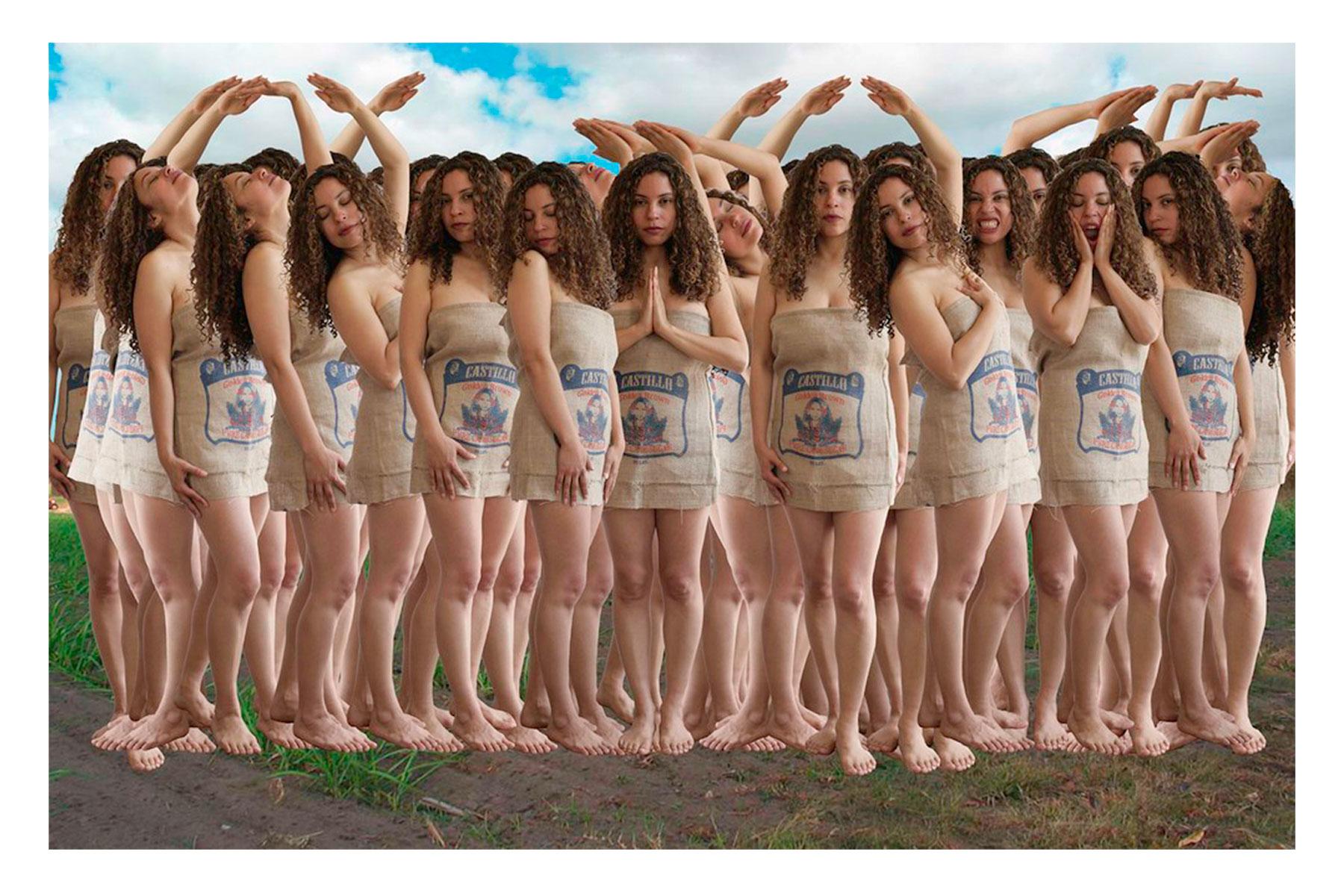 "Castillo. Brown Sugar (#2 of 3), 2009. Digital Photography, Triptych Giclee, 11"" x12"""