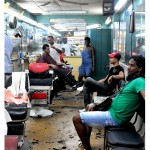 "Chelle Barbour. Havana Barbershop, 2012.  Digital print on archival paper, 4"" x 6"""