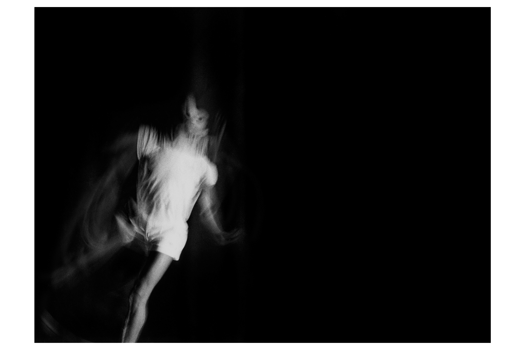 Donald Bernard. Dance Series 1: Dance a Metaphor for Life, 1984. Black and White Giclee Photograph, 4″x6″