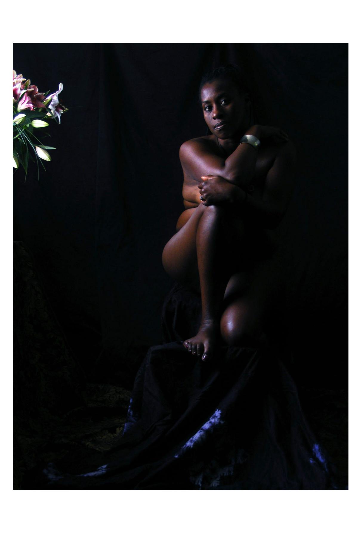 "J Michael Walker. Portrait of Marcela iv, 2014. Digital photograph, 20"" x 15"""