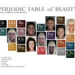 Janet E. Dandridge. Follow These Rules: Periodic Table of Beauty 2013 Photography. Graphic-Design, Dimensions are site-specific