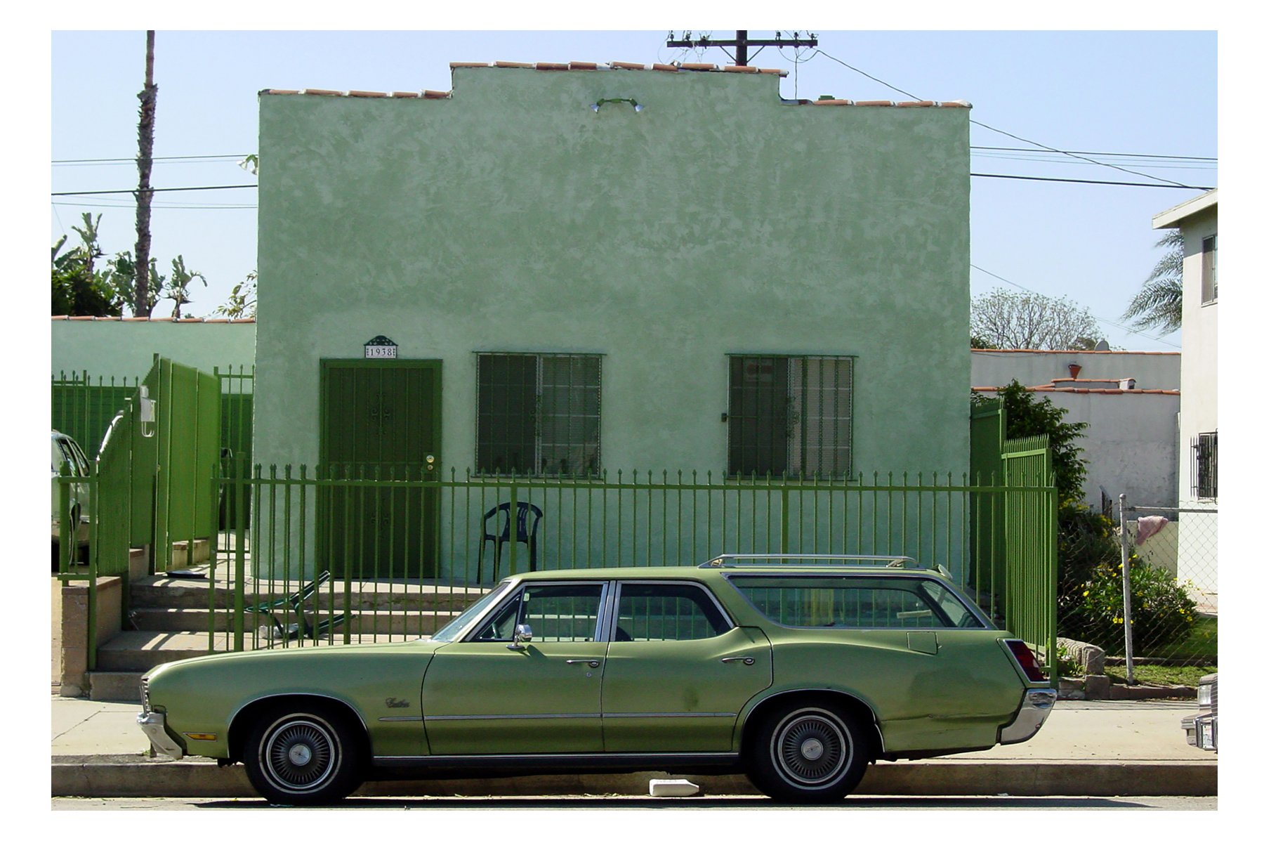 """Vincent Johnson. The Green Coincidence, 2002. Digital Photography, 13""""x19"""""""