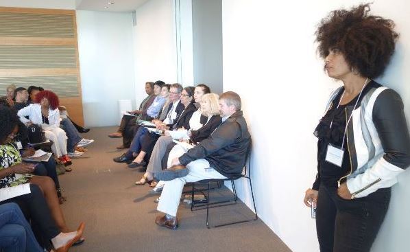 The Roundtable I organized for BAILA: Black Artists in Los Angeles with the Getty Museum and Getty research Institute, 4 Nov 2014