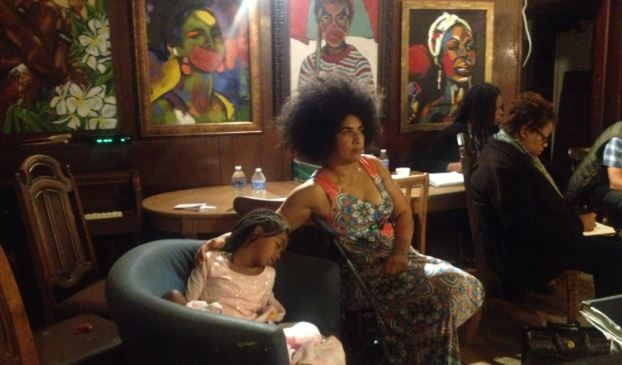 BAILA (Black Artists in Los Angeles) Core Meeting at my house, 16 Nov 2014