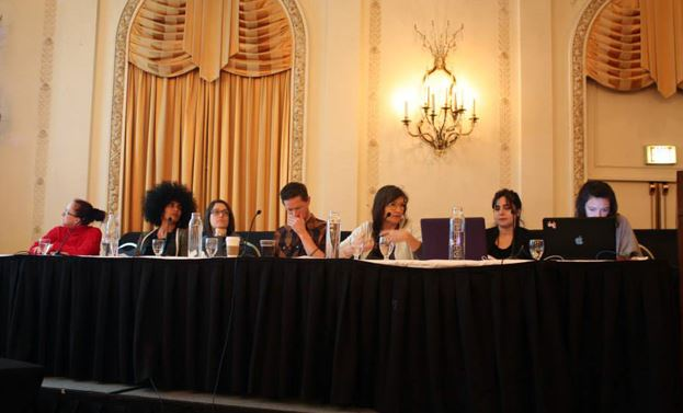 Our CAA Conference 2014 panel in which I was a speaker, Chicago, 14 Feb 2014