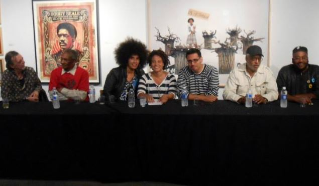 Panel Discussion for Black Panther Art Show, LA ArtShare, 20 Mar 2014
