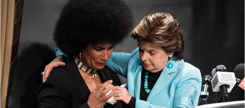 Lili Bernard and Gloria Allred re. Bill Cosby, Press Conference 1 May 2015, NYC, NY (Photo: Getty Images)