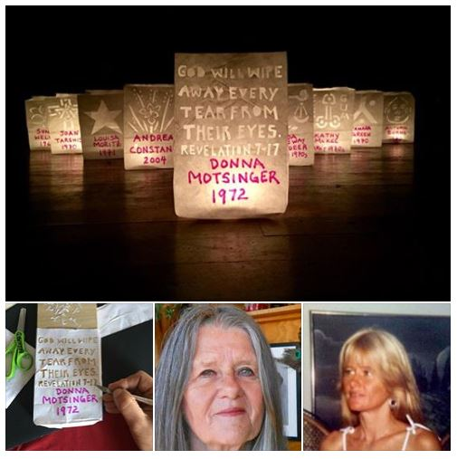 "16th Candle: ""If my son Dylan were still with me today he would tell me 'Mom, you have always taught us to be honest and stand up for our truth, it's only right you speak up now.' This isn't something that's easy for somebody as private as I am but it's something I have to do. I feel like it's my responsibility to do whatever I can for all the victims."" — Donna Motsinger, alleging being drugged and raped by Bill Cosby in 1972, when she was 31-years-old. ""And God will wipe away every tear from their eyes."" — Revelation 7-17 Praying for Donna Motsinger, Andrea Constand, the more than 62 known Cosby Accusers and all sexual assault survivors. God bless us all during these next 45 days leading up to the Cosby Retrial and forever in solidarity, in #ChristJesus with all the Saints, Angels, #Orishas and the souls of the Ancestors. #GodsWillBeDone #GloryHallelujahAmen. Join us every night at 7pm outside of the courthouse at the #CosbyRetrial for a 63 second candlelight vigil, in prayer for all rape survivors and for the victim in the #CosbyTrial, #AndreaConstand, who was drugged and sexually assaulted by #BillCosby in 2004. The trial is scheduled to begin on April 2nd, 2018 at the Montgomery County Courthouse, 493 Swede St, Norristown, PA 19401. #metoo #timesup #believewomen #fearnot #silentnomore #cosbyaccusers #standwithdre #standintruth #truthtopower #justiceforsurvivors #convictcosby #consentis #artivism #activism #feminism #feminist #victory #loveprevails #artismyreligion #eranow Posted 2/17/2018"