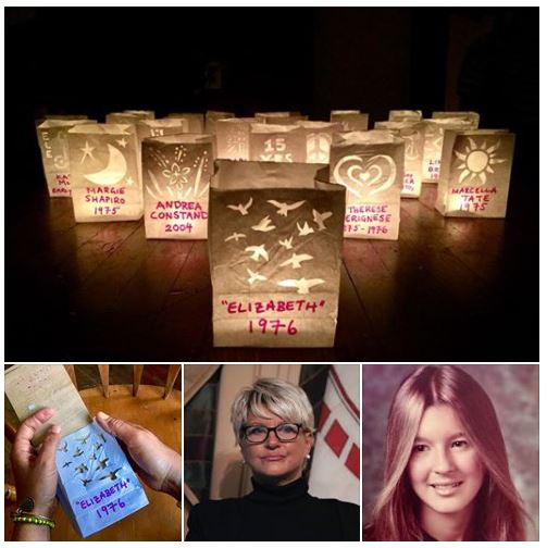 "25th Candle: ""I could barely stand up, and I was either going to pass out or get very sick. He [Bill Cosby] made me kneel down. I'm not going to repeat what happened next. All I know is that it was the most horrifying thing that could happen to any young woman. The next thing know, I was in the Rolls Royce profusely vomiting. I apologized and the driver said I wasn't the first. I was so drugged up and sick that the driver had to escort me to my room. The next day, I was sicker than I had ever been in my life."" — Elizabeth. Year of alleged drugging and sexual assault: 1976. Age at the time: 20-years-old. Praying for Elizabeth, Andrea Constand, the more than 62 known Cosby Accusers and all sexual assault survivors. God bless us all during these next 36 days leading up to the Cosby Retrial and forever in solidarity, in #ChristJesus with all the Saints, Angels, #Orishas and the souls of the Ancestors. #GodsWillBeDone #GloryHallelujahAmen. Join us every night at 7pm outside of the courthouse at the #CosbyRetrial for a 63 second candlelight vigil, in prayer for all rape survivors and for the victim in the #CosbyTrial, #AndreaConstand, who was drugged and sexually assaulted by #BillCosby in 2004. The trial is scheduled to begin on April 2nd, 2018 at the Montgomery County Courthouse, 493 Swede St, Norristown, PA 19401. #metoo #timesup #believewomen #fearnot #silentnomore #cosbyaccusers #standwithdre #standintruth #truthtopower #justiceforsurvivors #convictcosby #consentis #artivism #activism #feminism #feminist #victory #loveprevails #artismyreligion #eranow #peace"