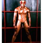 "Jim Starks, Jr. Venetian Masks Series - Jason, 2014. Original Finished Archival Limited Edition Pigment Print, 22""X17"""