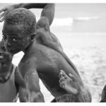 """Kenturah Davis.  Acrobat (Busua, Ghana), 2014. Photograph, 4""""x6"""""""
