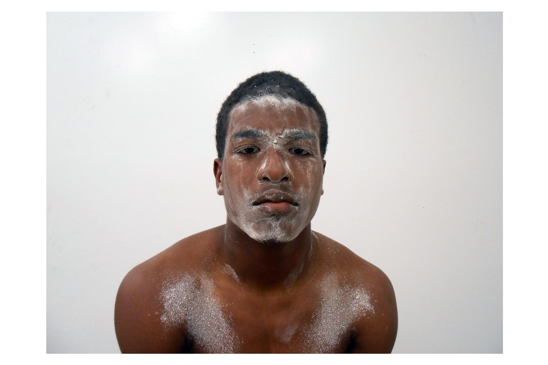"Lili Bernard. Ain't Funny Warrior 1: My Son Rafael, 2014. Digital Photograph, 12""x16"""
