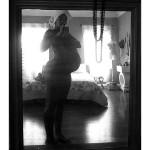 """Numa Perrier. Nine Months - Self Portrait, 2011. Digital Photography, 6""""X4"""""""