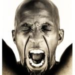 "Toni Scott. Cry of the Black Man, 2009. Metal Print, 20 x 30"" x 2"""